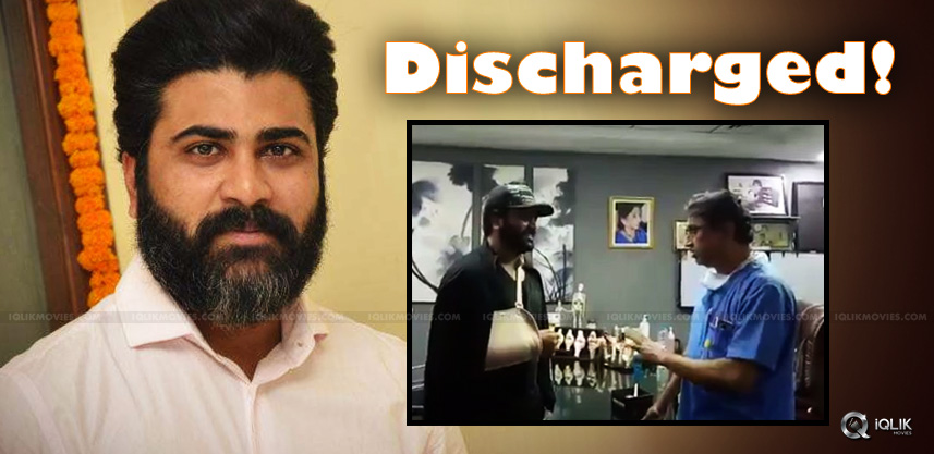 sharwanand-discharges-from-hospital