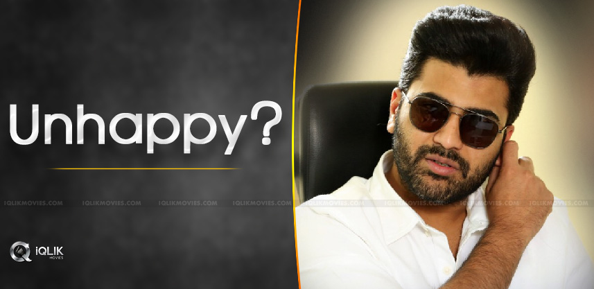 Sharwanand Unhappy With Title Of '96' Remake