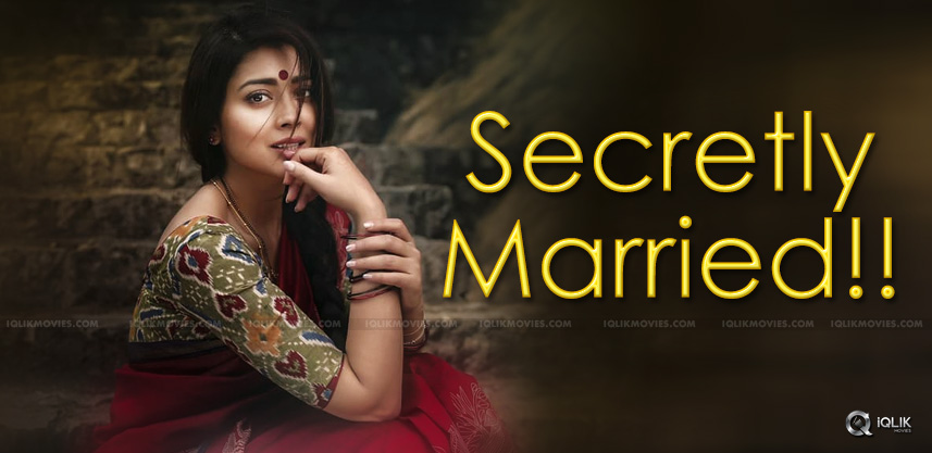 Shriya Saran's Secret Wedding