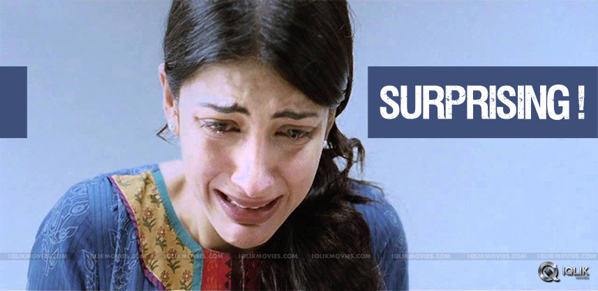 shrutihaasan-turns-into-tears-in-flight-journey