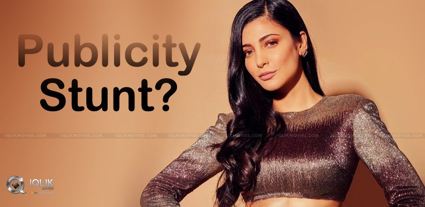 Shruthi-Health-Issues-Just-A-Publicity-Stunt