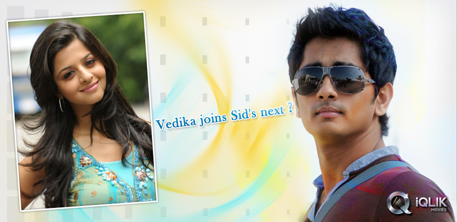 Vedika-in-talks-for-Siddharths-next-