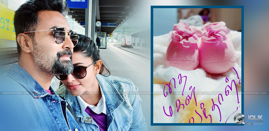 Sneha-Blessed-With-Baby-Girl