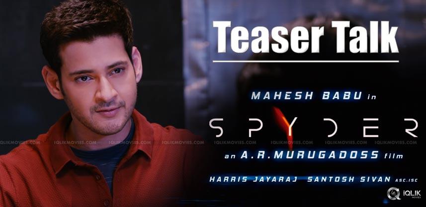 mahesh-spyder-teaser-talk-details