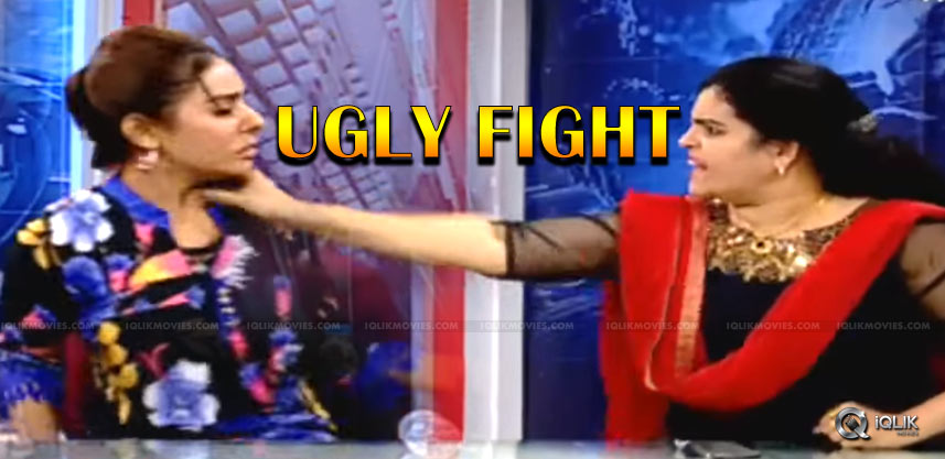 ugly-fight-of-ladies-on-live-sri-reddy-kalyani-