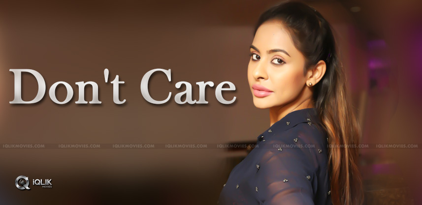 Nobody Bothering About Sri Reddy?