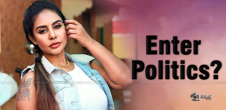 Sri-Reddy-To-Join-Politics-Soon
