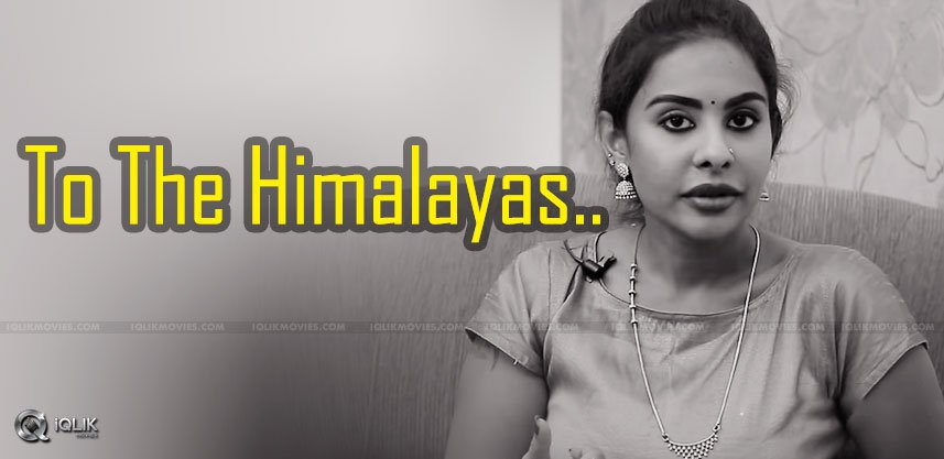 sri-reddy-will-leave-to-the-himalayas