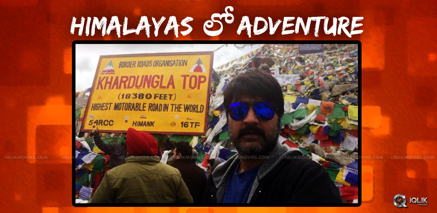 hero-srikanth-adventurous-action-in-himalayas