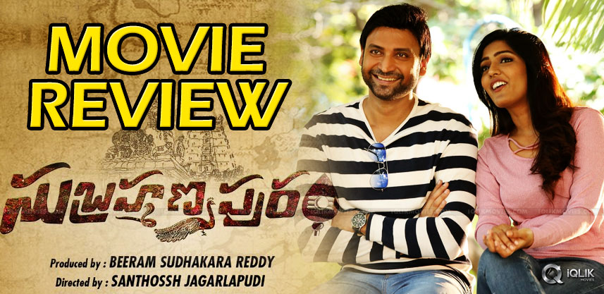 'Subrahmanyapuram' Movie Review And Rating