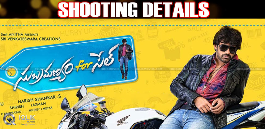subramnayam-for-sale-shooting-details