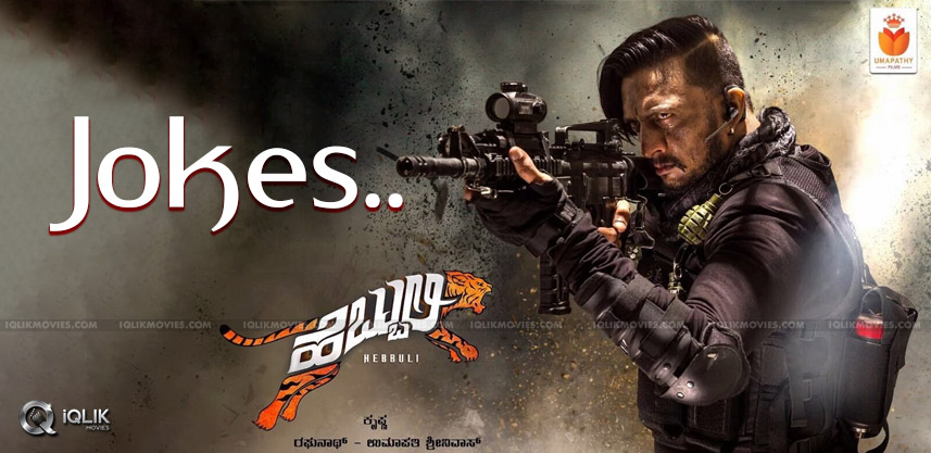 Sudeep-look-in-Hebbuli-poster