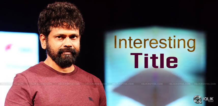 sukumar-new-film-title-director