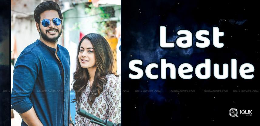 sundeep-kishan-new-movie-enters-last-schdeule