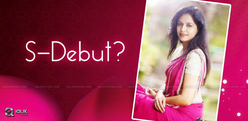 sunitha-acting-debut-in-short-film