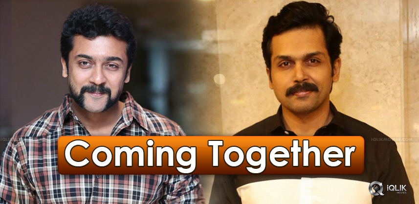 suriya-and-karthi-act-together-details-