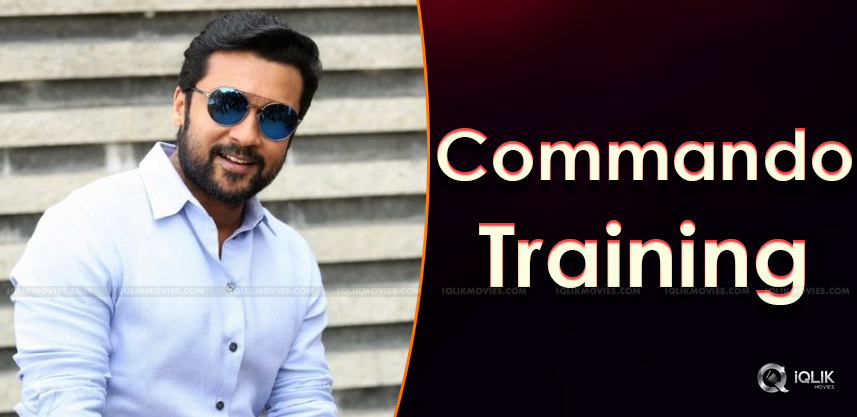 suriya-taking-commando-training-details