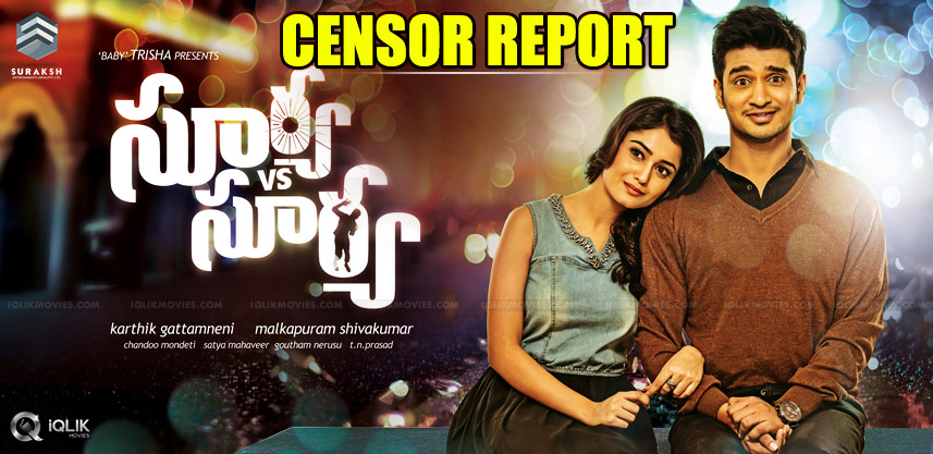 nikhil-new-movie-censor-report