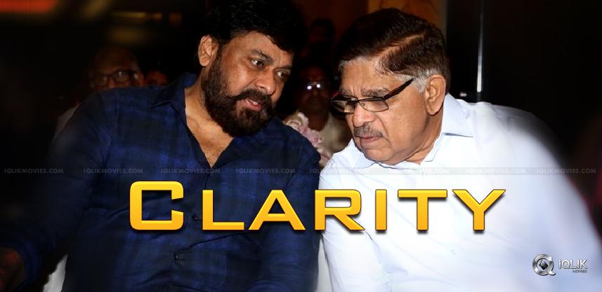 no-clarity-on-chiranjeevi-allu-aravind-movie