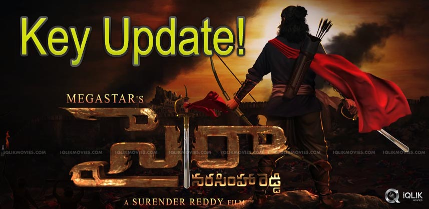 Sye Raa Update: Key Schedule In Kerala