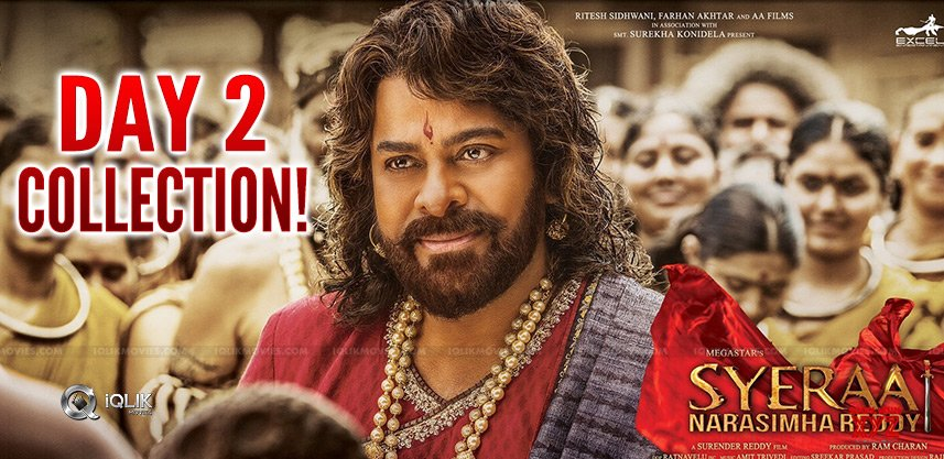 chiru-sye-raa-day2-collections