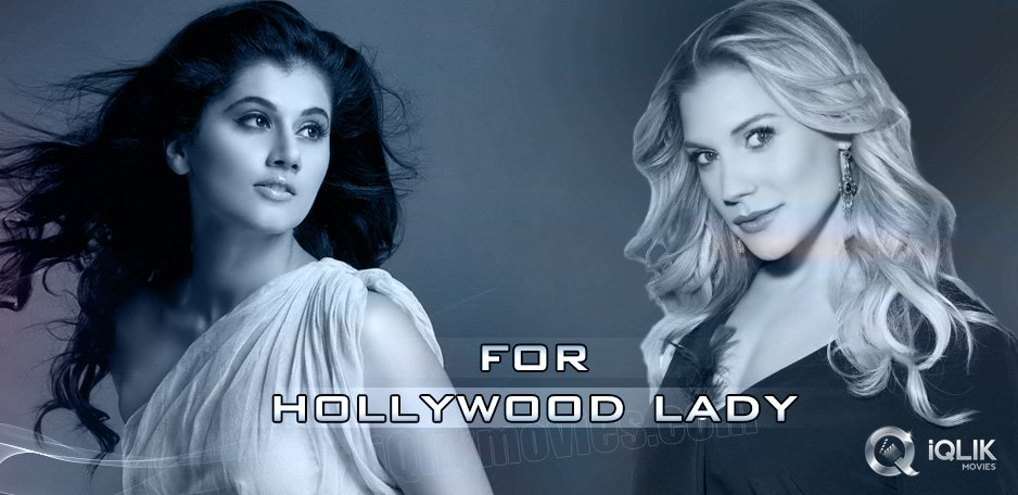 Taapsee-to-dub-for-Hollywood-actress