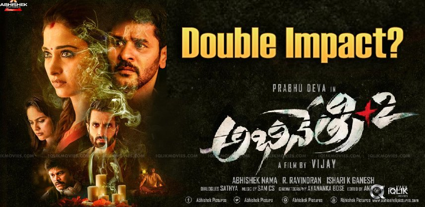 Abhinethri-2 Trailer: Double \'The\' Impact?
