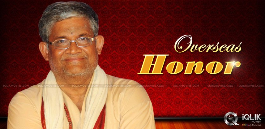 rare-honor-for-telugu-writer-thanikella-bharani
