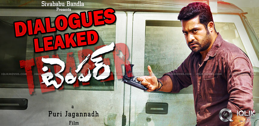 ntr-temper-movie-dialogues-got-leaked