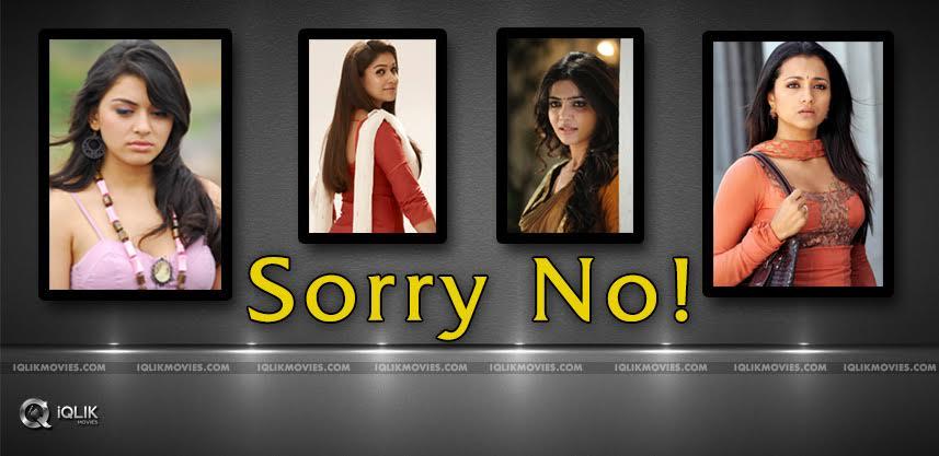 trisha-nayantara-samantha-avoiding-media