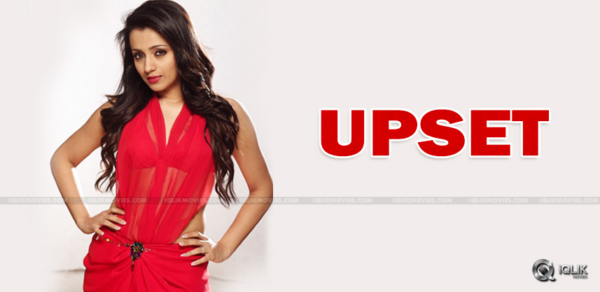 trisha-upset-with-hermanager-regarding-nayaki