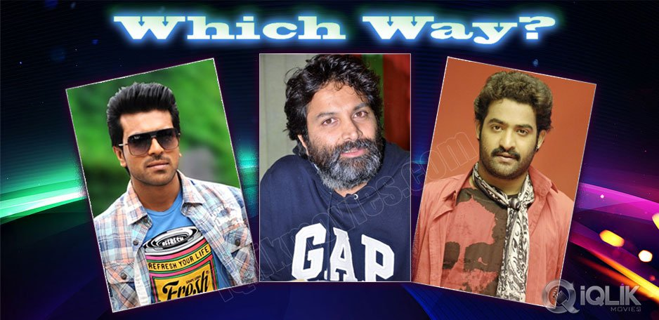 Trivikram-to-decide-between-Ram-Charan-and-JrNTR