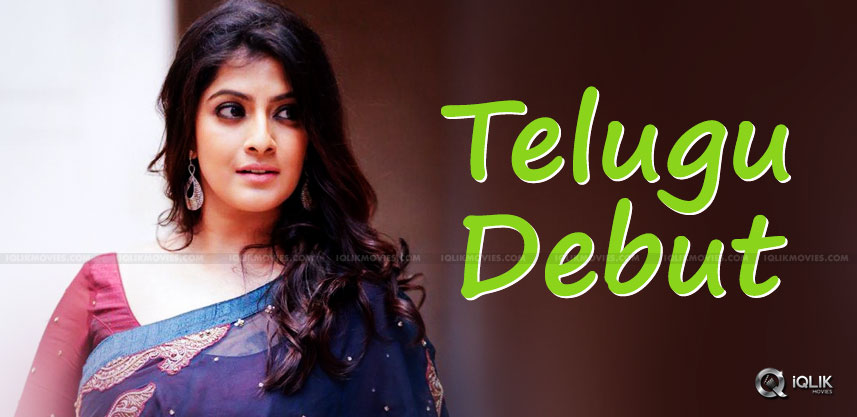 Varalaxmi To Make Her Telugu Debut