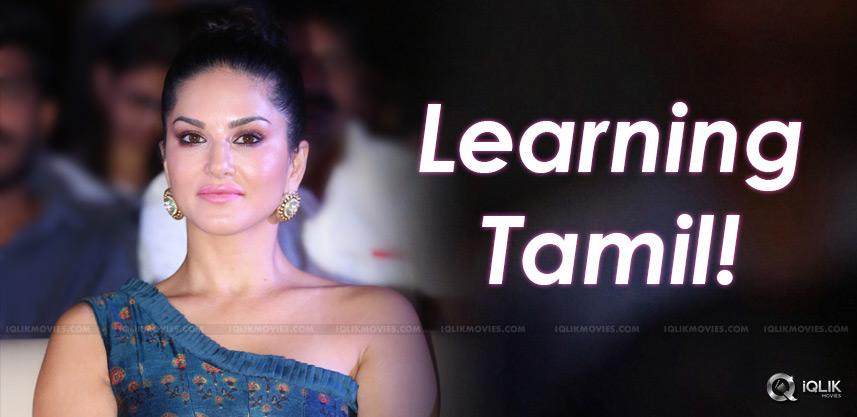 sunny-leone-tamil-learning-veeramadevi