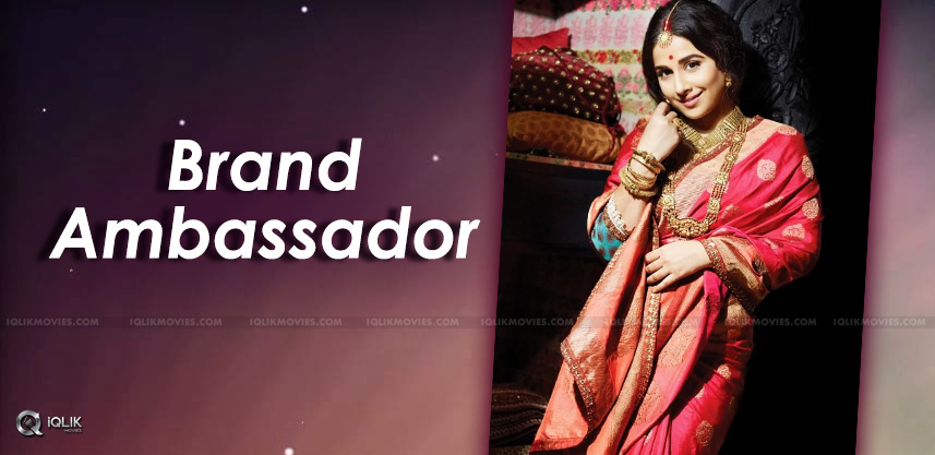vidyabalan-appointed-as-silkboard-ambassador