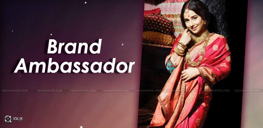 vidyabalan-appointed-as-silkboard-ambassador