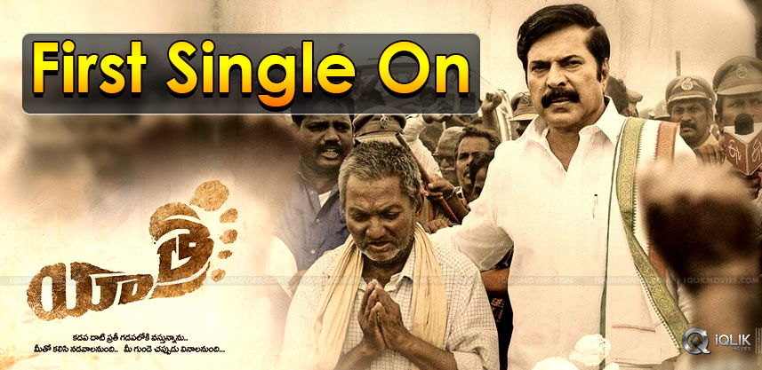 yatra-movie-first-single-release-details