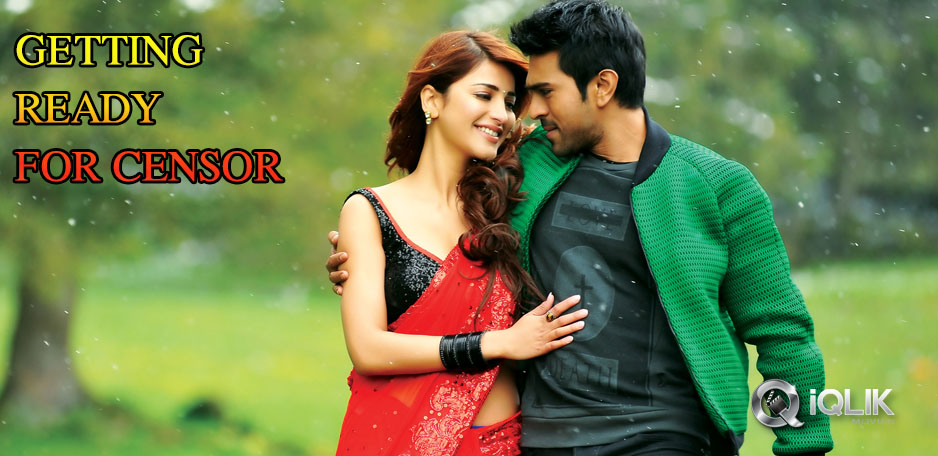 Yevadu-getting-Ready