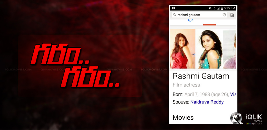 anchor-rashmi-gautam-serious-over-spouse-name