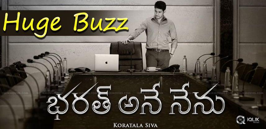 bharath-ane-nenu-buzz-intensified-details-