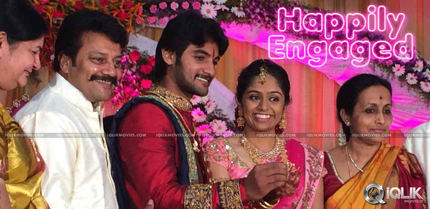 saikumar-son-hero-aadi-engagement-photos