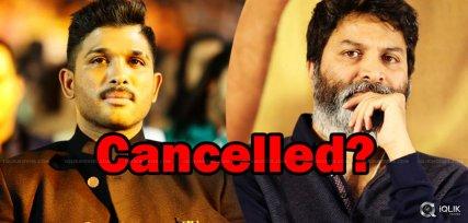 allu-arjun-and-trivikram-movie-is-cancelled