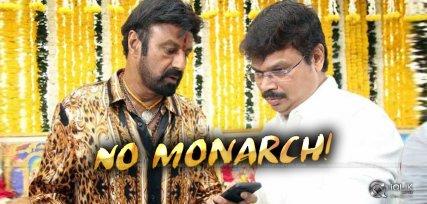 monarch-not-the-title-of-balayya-boyapati-film