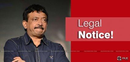 Legal Notices to Ram Gopal Varma