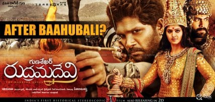 'Rudramadevi' Releases After 'Baahubali'?