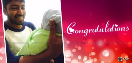 Allari Naresh becomes Father
