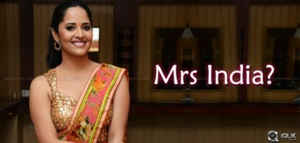Anasuya Deserves Mrs. India Crown For This