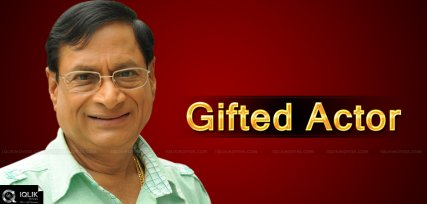 M.S.Narayana- A Gifted Actor
