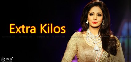 Sridevi Gaining Weight?