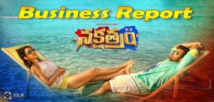 nakshatram-movie-business-report-details